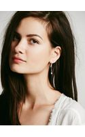 Filili By Luiny Small Bar Chain Earrings - Lyst