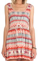 Mink Pink Elephant Journey Dress - Lyst