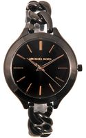 Michael Kors Slim Runway Watch - Lyst