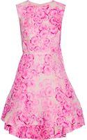Giambattista Valli Floral-print Silk Mini Dress - Lyst
