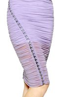 Versace Layered Stretch Tulle - Lyst