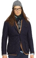 Polo Ralph Lauren Quilted Wool Sport Coat - Lyst