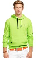 Polo Ralph Lauren Performance Fleece Hoodie - Lyst