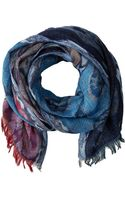 Lauren by Ralph Lauren Mixed Batik Pattern Scarf - Lyst