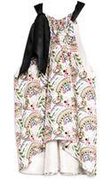 Cynthia Rowley Side Tie Top - Lyst