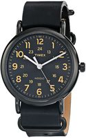 Timex® Weekender Forty Slip Through Leather Strap Watch - Lyst