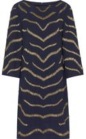 Reiss Harlow Streamlined Embellished Dress - Lyst