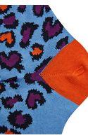 Paul Smith Animal Print Ankle Socks - Lyst