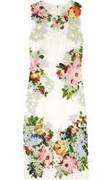 Dolce & Gabbana Appliquãd Lace Dress - Lyst