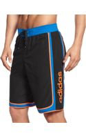 Adidas Big and Tall Player Volley Swim Shorts - Lyst