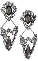 Alexis Bittar Marquise Cluster Clip-on Earrings - Lyst