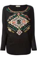 Emilio Pucci Embroidered Tunic Top - Lyst