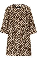 RED Valentino Leopardprint Faille Coat - Lyst