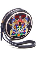 Mary Katrantzou Embroidered Leather Coin Purse - Lyst