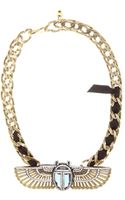 Lanvin Crystalembellished Necklace - Lyst