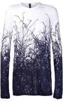 Gareth Pugh Long Sleeve Root Shirt - Lyst
