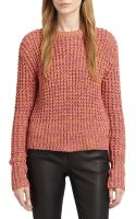 Acne Studios Cotton Honeycomb Sweater - Lyst