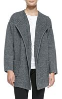 Theory Darcian Wool-blend Coat - Lyst
