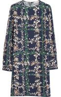 Matthew Williamson Printed Silk Mini Dress - Lyst