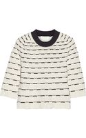 3.1 Phillip Lim Twotone Texturedknit Sweater - Lyst