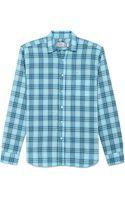 Shipley & Halmos Marine Shirt - Lyst