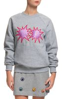 House Of Holland Glitter Starburst Sweatshirt - Lyst