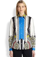 Etro Printed Exclusive Shirt - Lyst