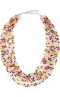 Nakamol Layered Mixed Beaded Necklace - Lyst