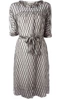Etoile Isabel Marant Printed Dress - Lyst