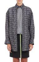 Alexander Wang Paisley Layered Oversize Shirt - Lyst