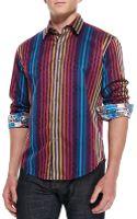 Robert Graham Forgetmenot Printed Sport Shirt - Lyst