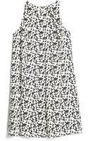 Mango Monochrome Print Dress - Lyst