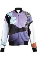 3.1 Phillip Lim Floral Print Bomber Jacket - Lyst