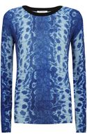 Equipment Cobra Print Sloane Sweater - Lyst