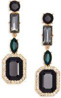 Kate Spade Art Deco Gems Linear Drop Earrings - Lyst