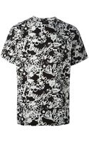 Jil Sander Abstract Print Tshirt - Lyst