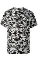 Jil Sander Abstract Print Tshirt - Lyst