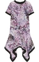 Prabal Gurung Floralprint Silk Dress - Lyst