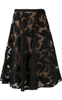 Marni Lace Full Skirt - Lyst