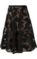 Marni Lace Full Skirt - Lyst