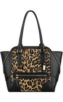 Nine West Punch Love Leopard Tote - Lyst