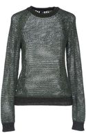 Theyskens' Theory Long Sleeve Jumper - Lyst