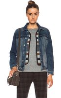 MiH Jeans Denim Jacket - Lyst