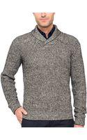 J. Lindeberg Noah Shawl Collar Sweater - Lyst