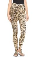 Just Cavalli Leopard Leggings  - Lyst