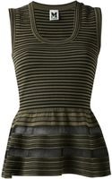 M Missoni Striped Tank Top - Lyst