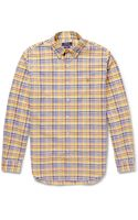 Polo Ralph Lauren Buttondown Collar Check Cotton Oxford Shirt - Lyst