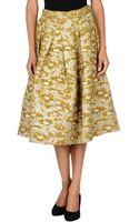 Roberto Collina Mid Length Skirt - Lyst