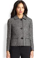 Akris Punto Tweed Jacket - Lyst