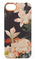 Ted Baker Black Floral Iphone 5 Case - Lyst